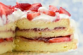 Norwegian Cream Cake